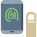mobile app privacy with fingerprints